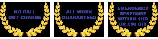 plumbing services guarantee