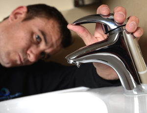 leaking tap requires Glasgow Plumber to fix